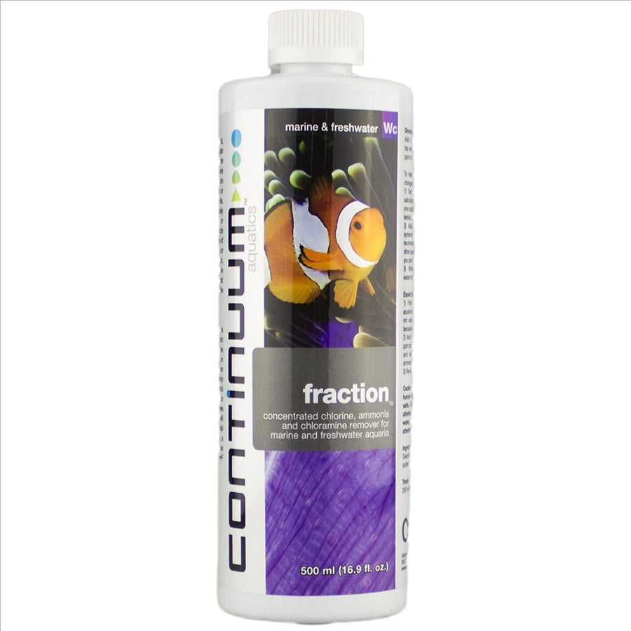 Continuum Aquatics Fraction 500ml - Removes Chlorine