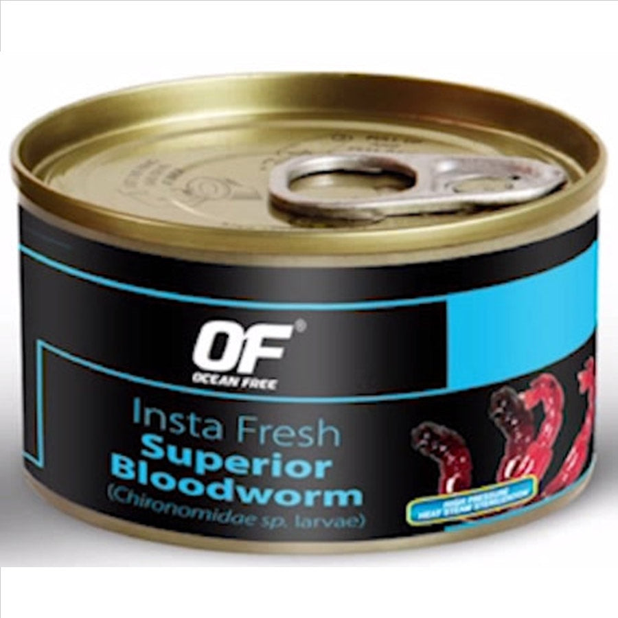 OF Ocean Free Insta Fresh Superior Bloodworms 100g