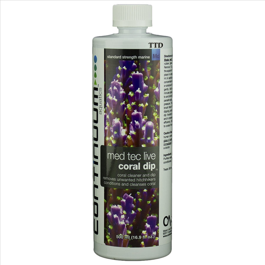 Continuum Med Tec Live Coral Dip and Cleaner 500ml