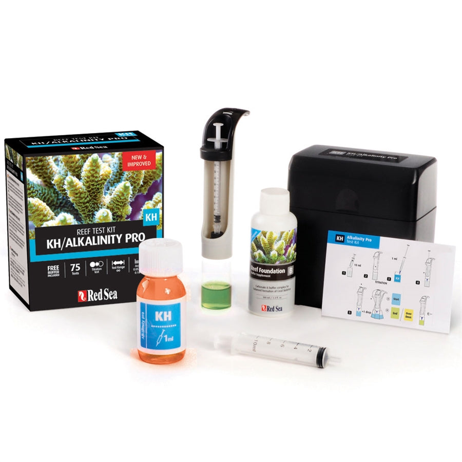 Red Sea Kh Alkalinity Pro Test Kit