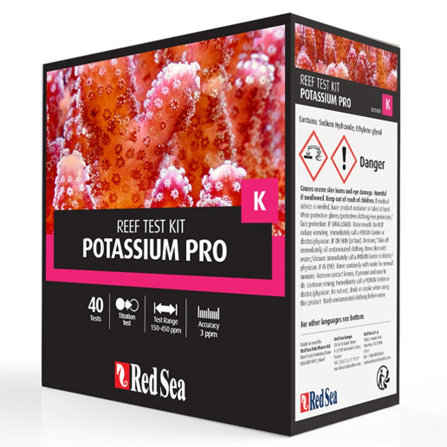 Red Sea Potassium Pro Testing Kit - 40 tests