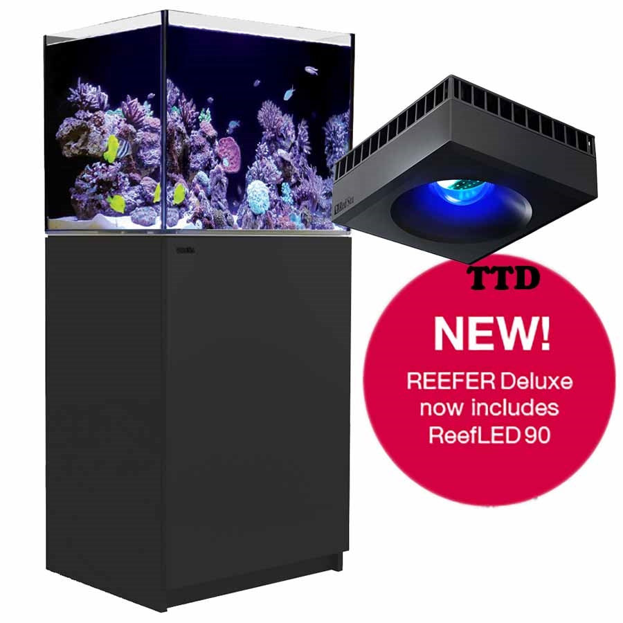 Red Sea REEFER Deluxe Aquarium System 170 - Black