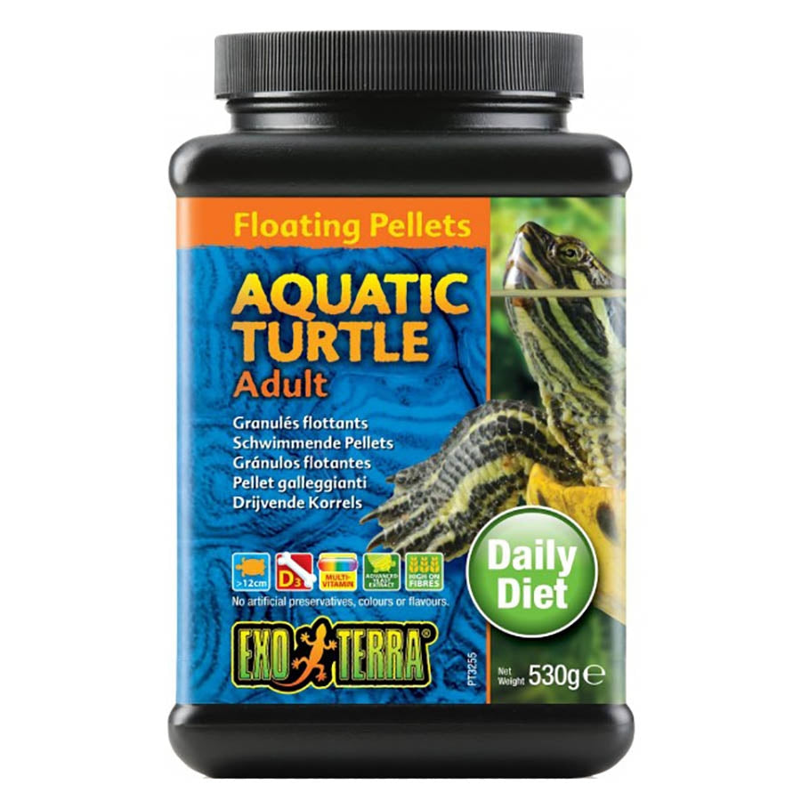 Exo Terra Adult Turtle 530g Floating Pellet
