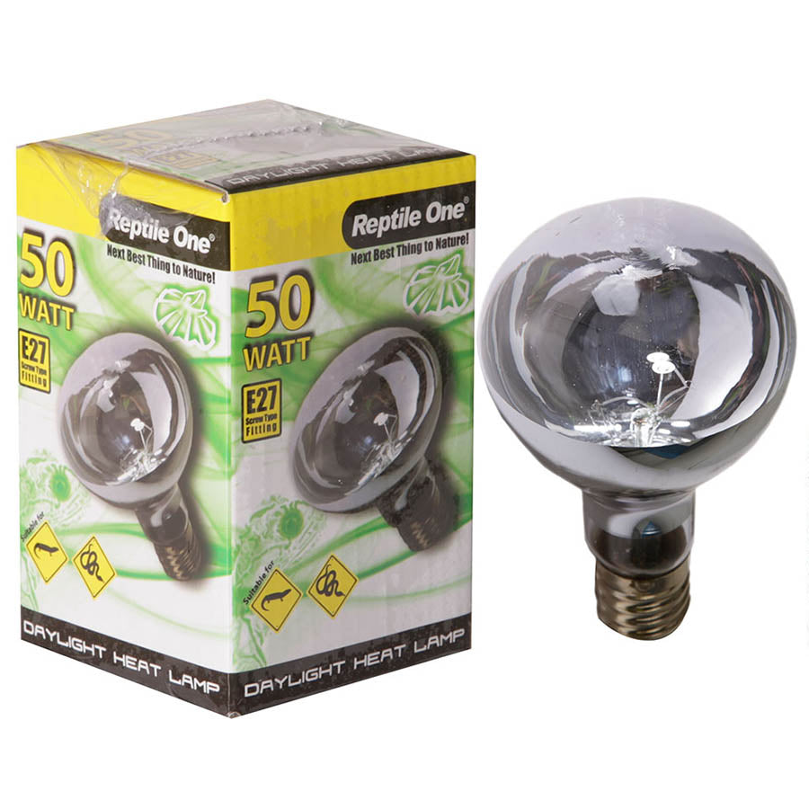 Reptile One Daylight Heat Lamp 50 Watt