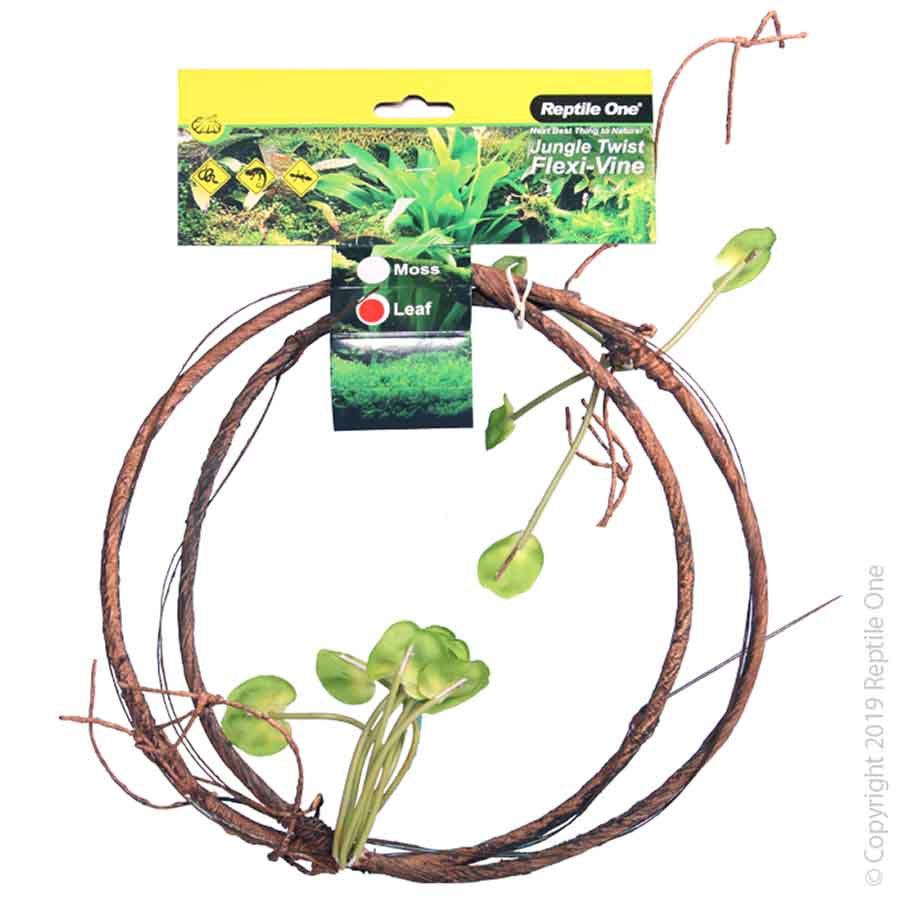 Reptile One Plant Reptile Vine Jungle Twist Leaf 1.5M