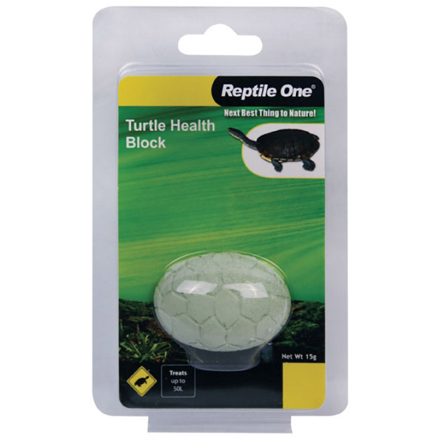 Reptile One Turtle Health Block 15g