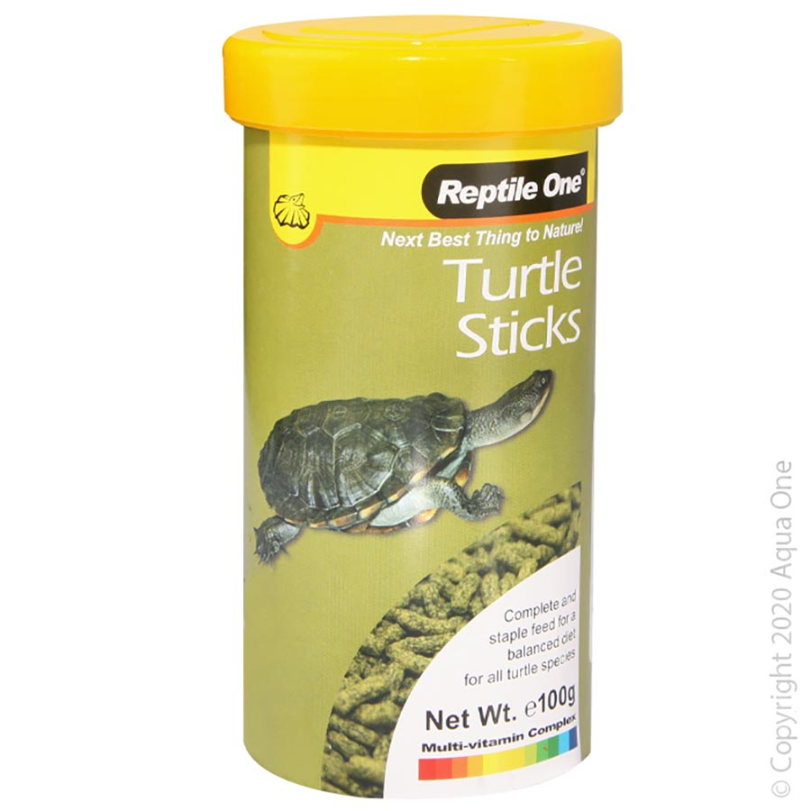 Reptile One Turtle Sticks Food 100g