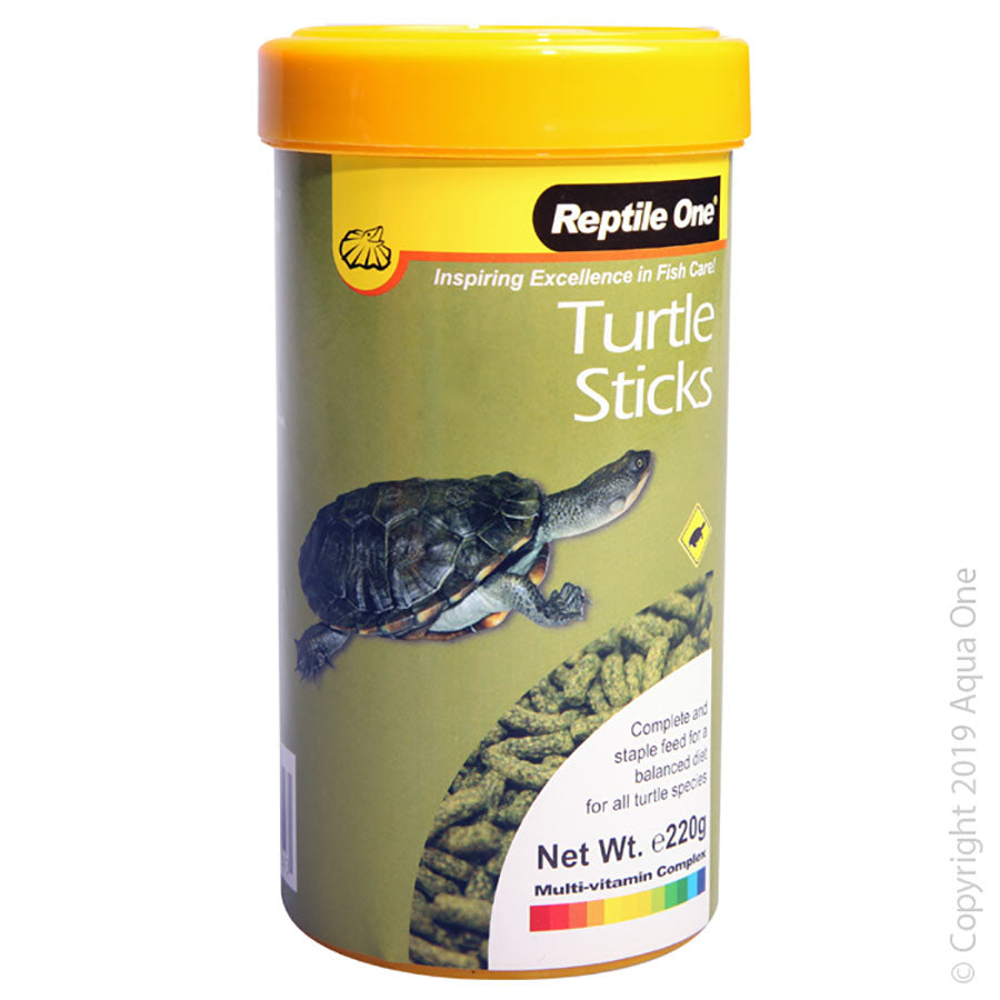 Reptile One Turtle Sticks Food 220g
