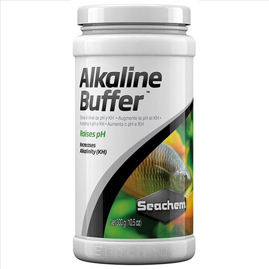Seachem Alkaline Buffer 300g adjusts pH alkaline (7.2 - 8.5)