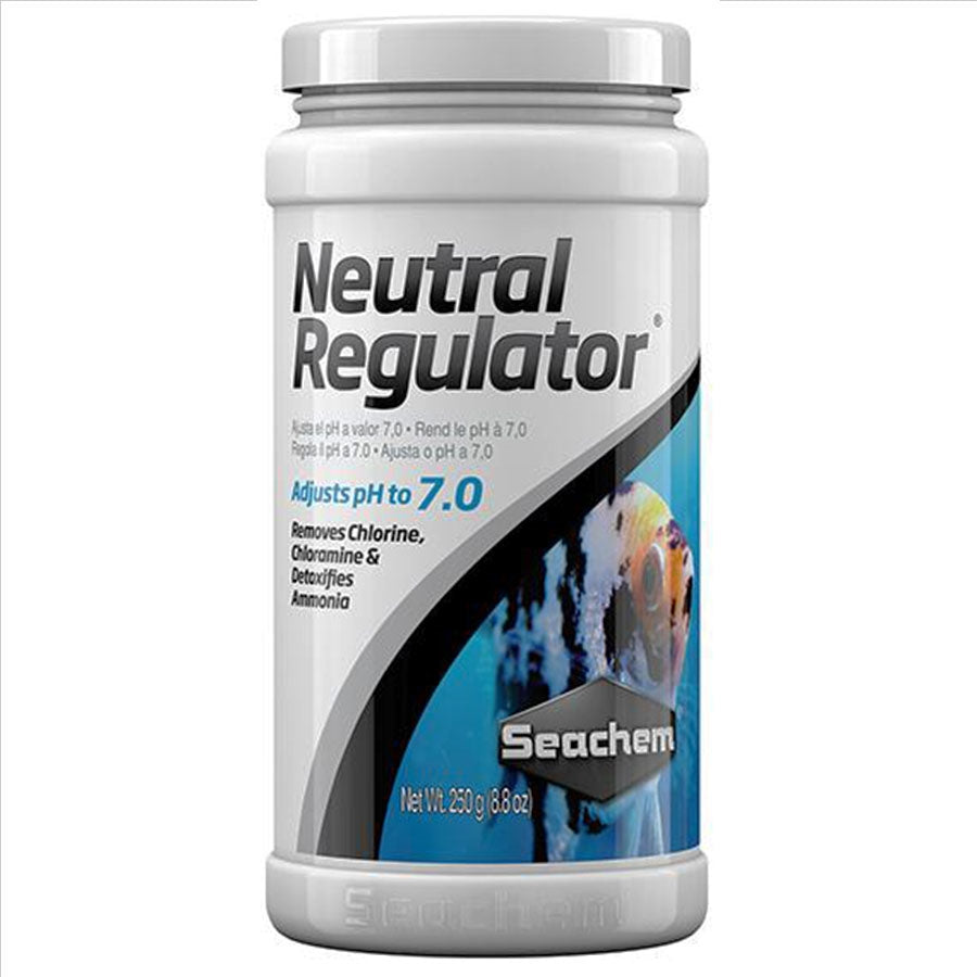Seachem Neutral Regulator 250g Adjusts Ph 7.0
