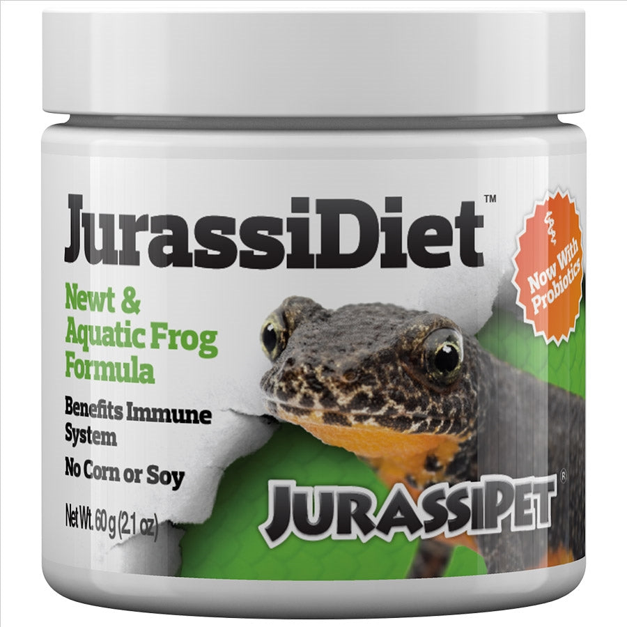JurassiDiet 60g Newt and Aquatic Frog Formula. By Seachem