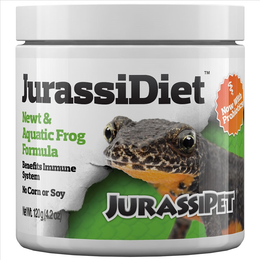 JurassiDiet 120g Newt and Aquatic Frog Formula. By Seachem
