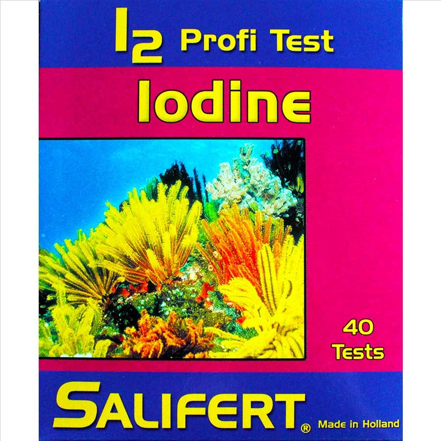 Salifert Iodine Profi Test Kit