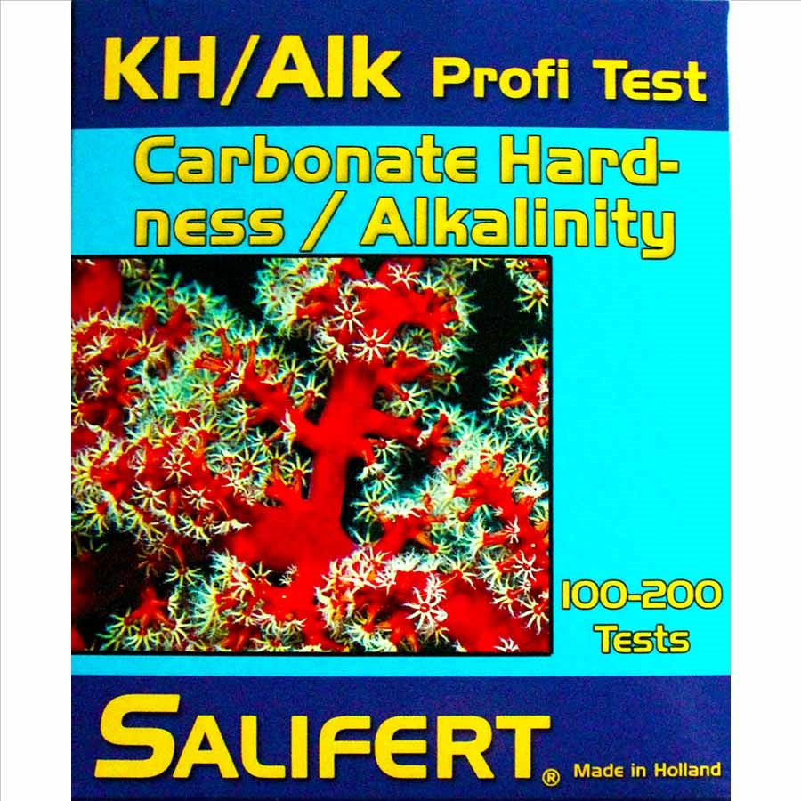 Salifert Carbonate Hardness / Alkalinity Profi Test Kit