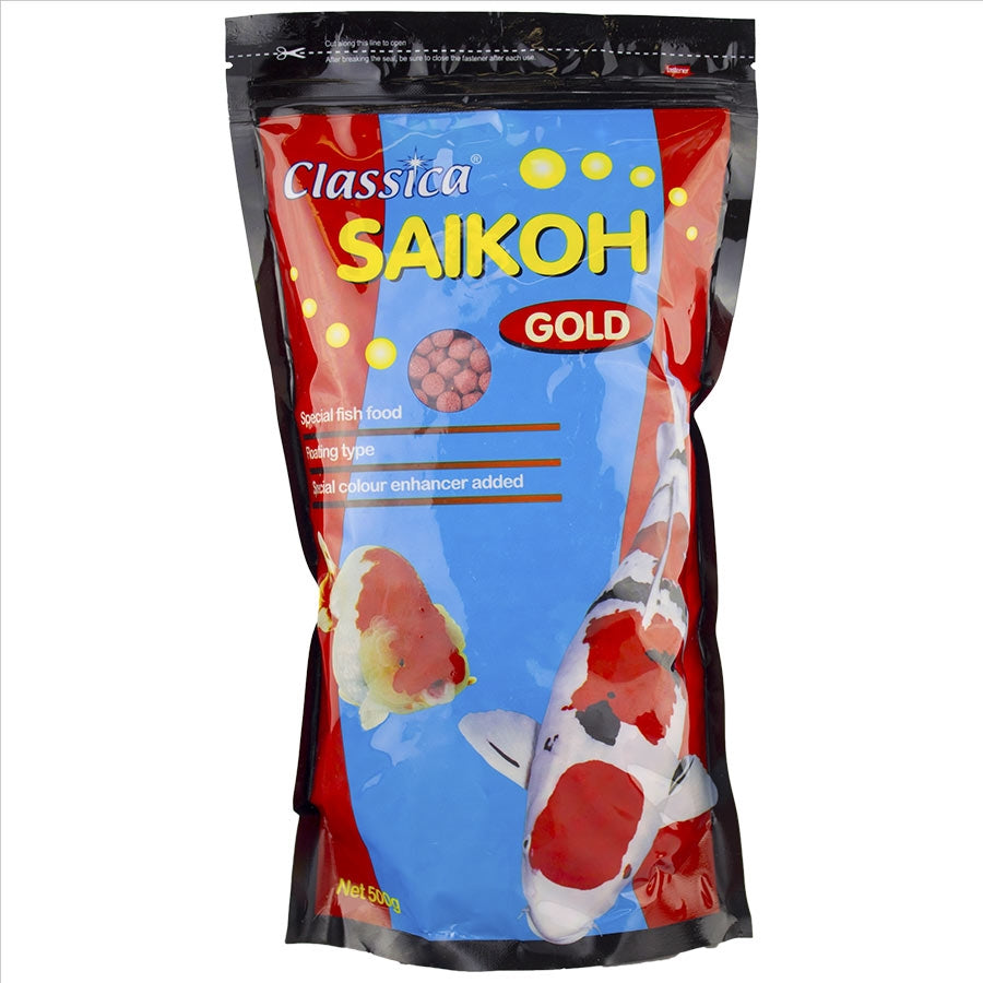 Saikoh Colour Goldfish and Koi Large Pellet 500g