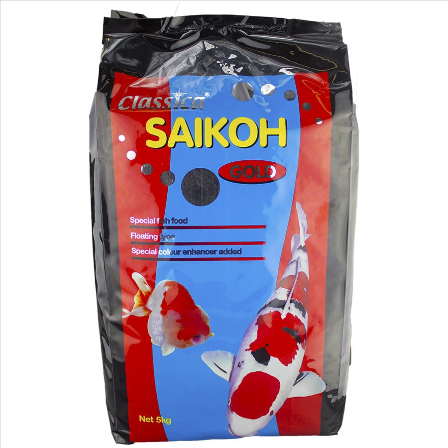 Saikoh Basic Goldfish and Koi Large Pellet 5kg