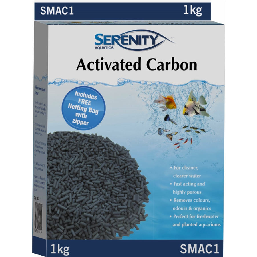Serenity Activated Carbon 1kg Media for Filtration