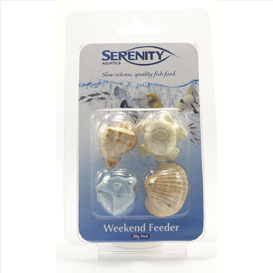 Serenity Tropical Weekend Feeder 4 Blocks