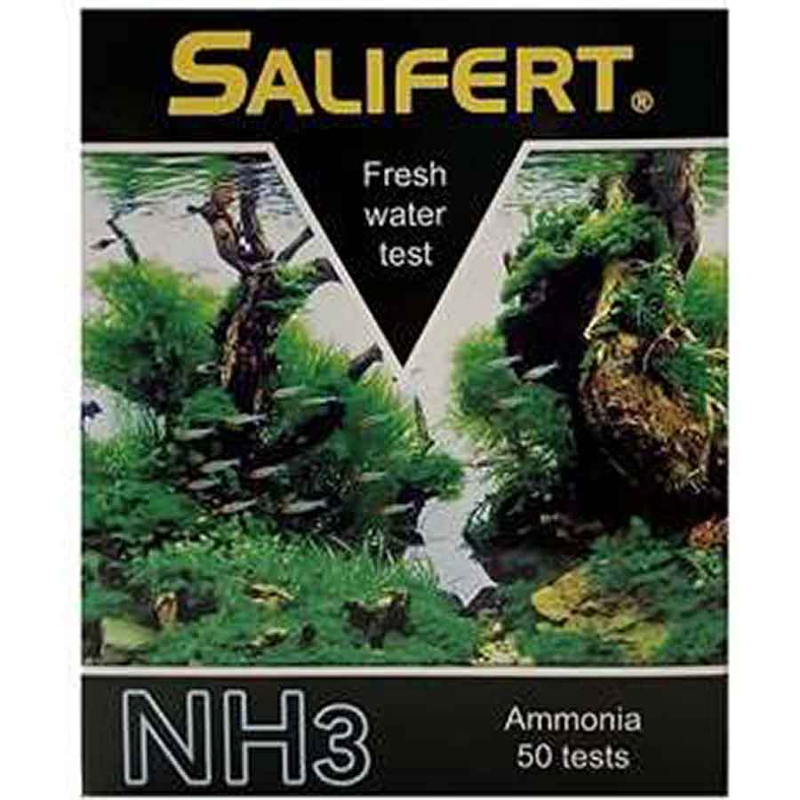 Salifert Freshwater Ammonia NH3 Test Kit - For Freshwater Tanks