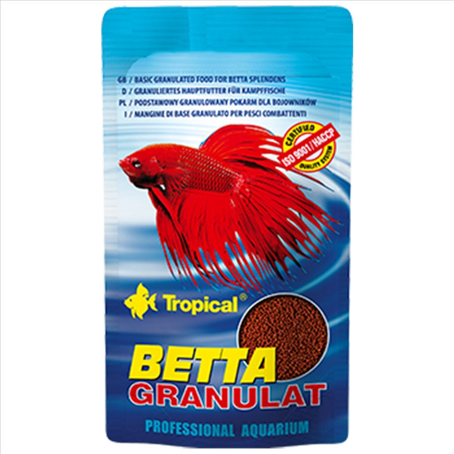 Tropical Betta Granulat 10ml/10g 1mm Pellet Fish Food