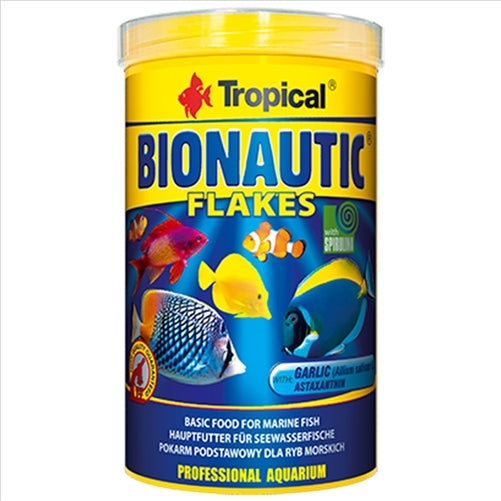Tropical Bionautic Flake 250ml 50g Marine Fish Food