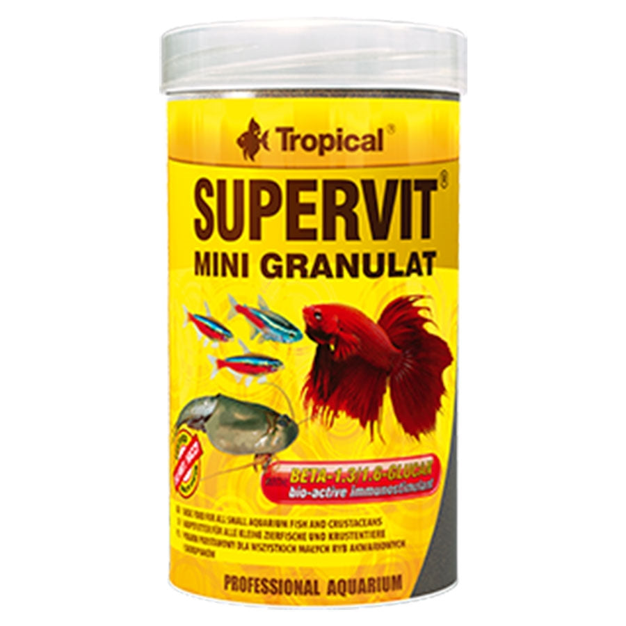 Tropical Supervit Mini Granulat 100ml - 65g - .5mm Pellet Food