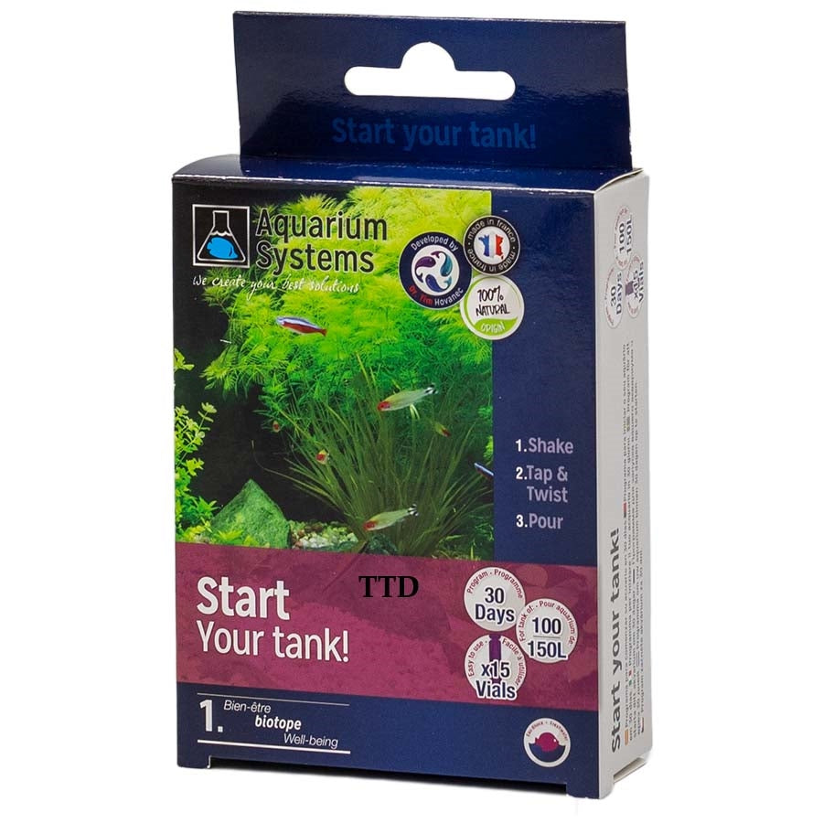 Aquarium Systems Start Your Tank 150l Freshwater Unidose