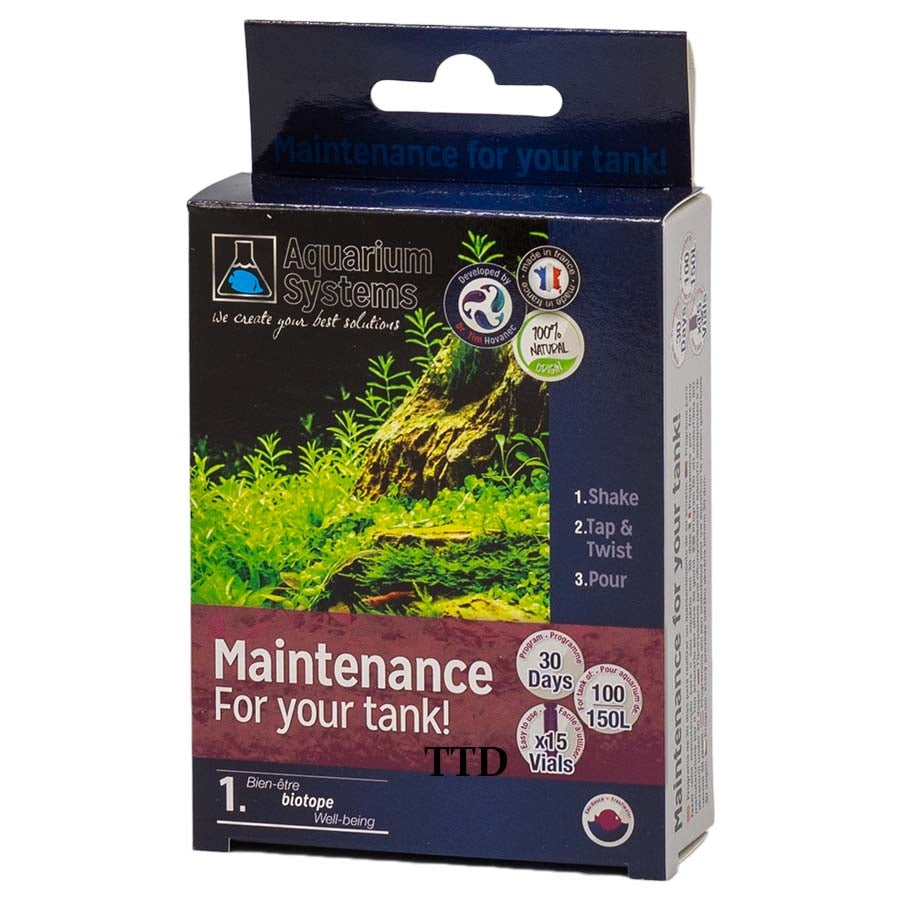 Aquarium Systems Maintain Your Tank 150l Freshwater Unidose