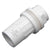 White DIN Tank Fitting (Bulkhead) 25mm, 32mm