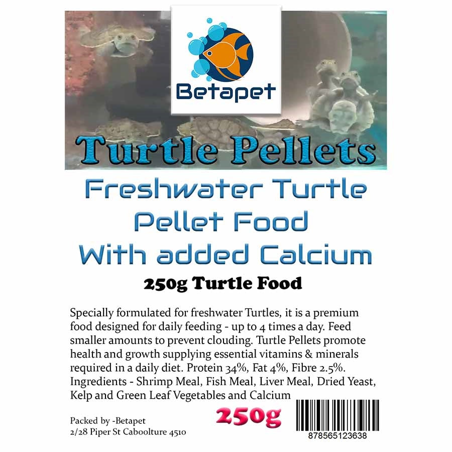 Betapet Turtle Sticks Pellet 250g