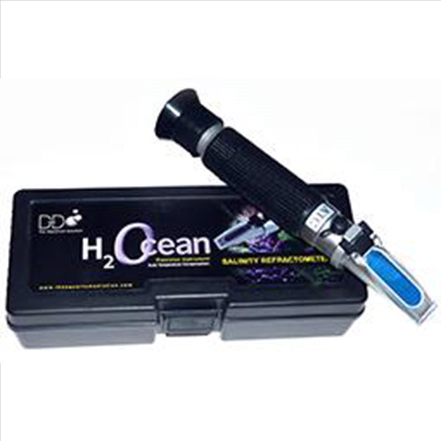 D D The Aquarium Solution Seawater Refractometer