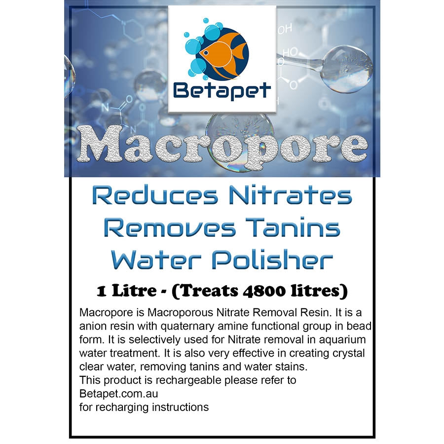 Betapet Macropore 1 Litre Water Conditioner