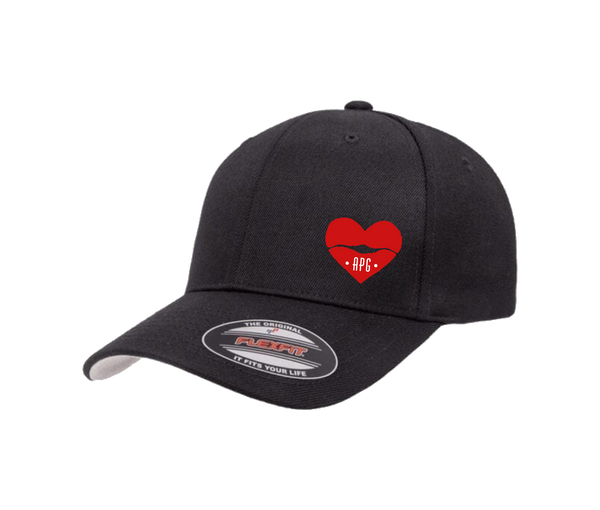 American Pomade Girl Hat · Curved Bill Fitted · Black
