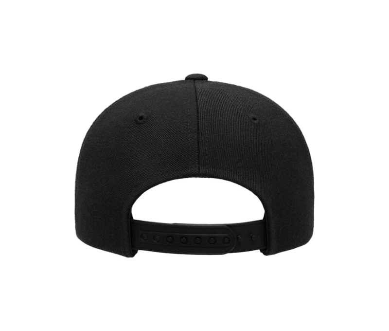 American Pomade Hat · Curved Bill Snapback · Black