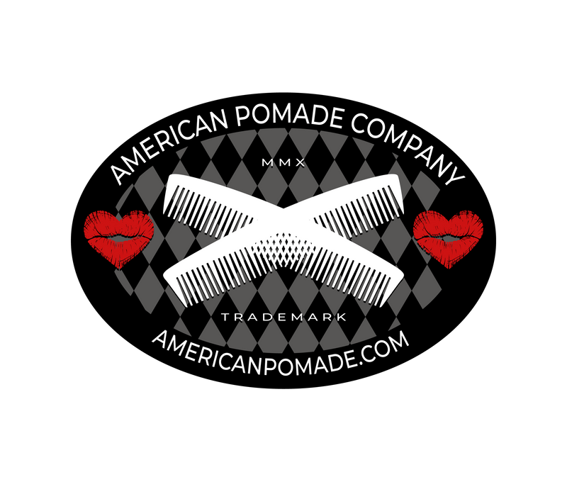 American Pomade Company Metal Shop Sign