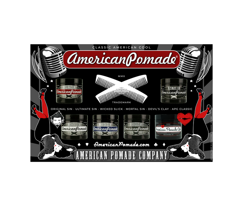 American Pomade Shop Poster · 2020