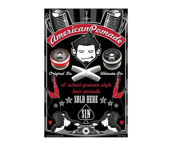 American Pomade Shop Poster · 2010