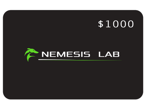 $1000 Nemesis Lab Gift Card