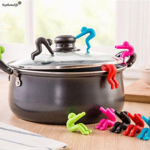 2pcs Silicone Cover Anti-overflow Kitchen