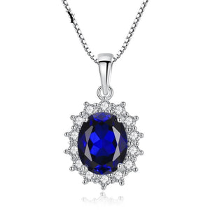 Princess Diana William Sapphire Necklace