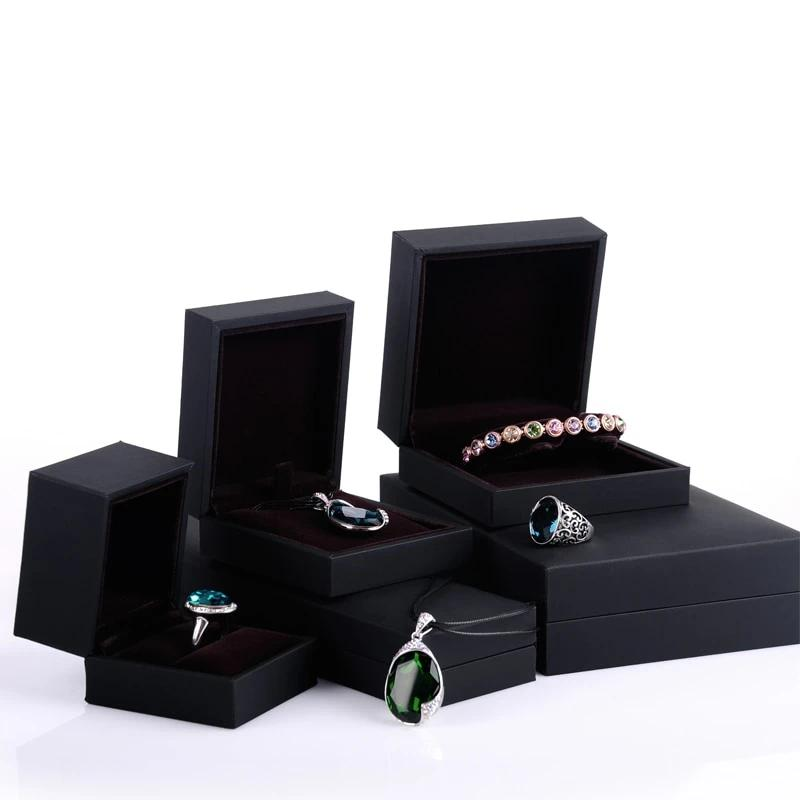 Leather Jewelry Box for Ring Necklace