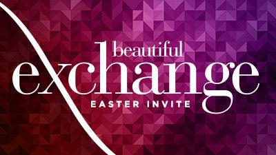 Beautiful Exchange Easter Invite