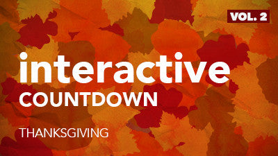 Interactive Countdown - Thanksgiving (Vol. 2)