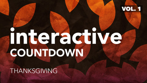 Interactive Countdown - Thanksgiving (Vol. 1)