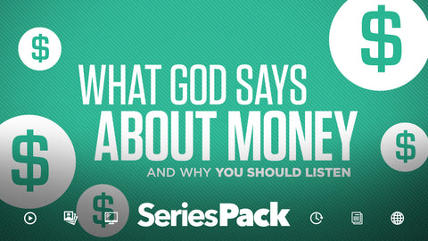 Series Pack - What God Says About Money