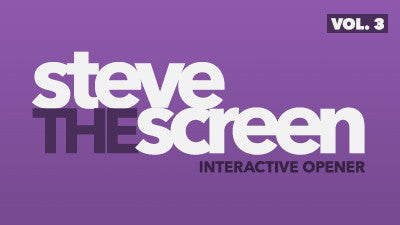 Steve the Screen - Volume 3
