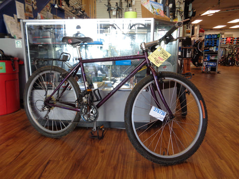 Used Specialized Rockhopper Comp burgundy 18""