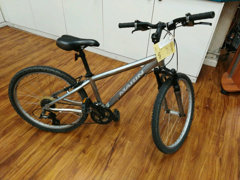 "Used Marin Bayview Trail 24"" wheels"