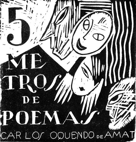 5 METERS OF POEMS by Carlos Oquendo de Amat
