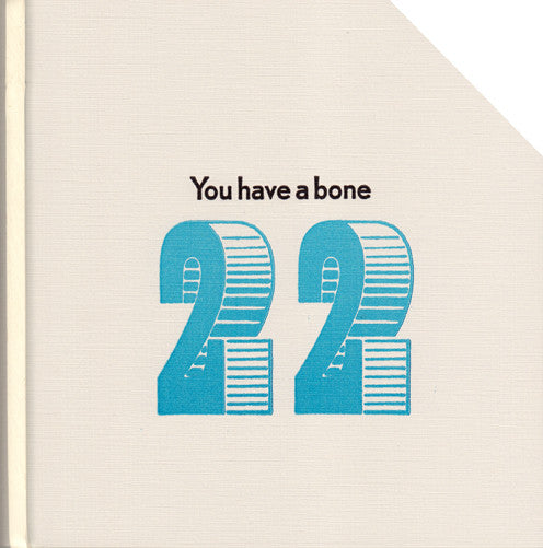 6X6 #22 YOU HAVE A BONE by 6X6 Poets